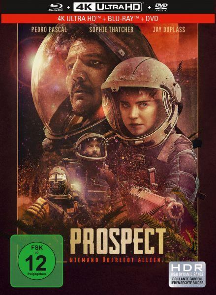 Prospect - 3-Disc Mediabook (UHD + Blu-ray + DVD)