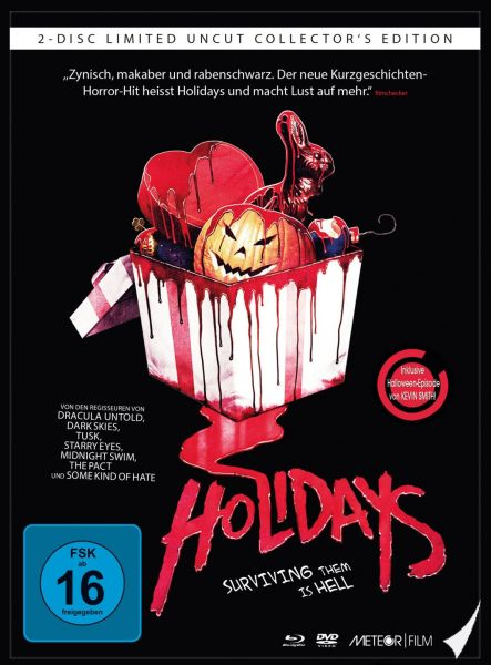 Holidays - Surviving them is hell (Uncut) (Limited Mediabook)
