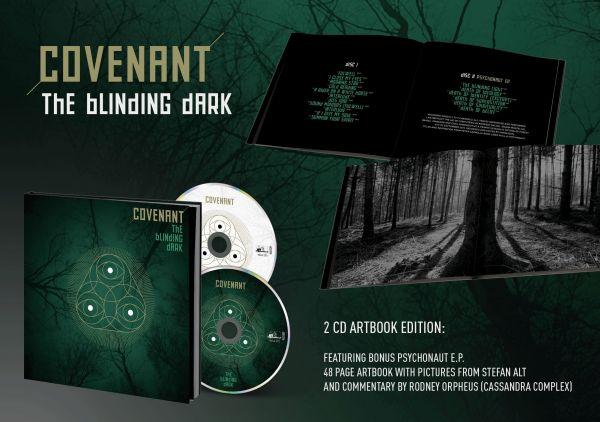 Covenant - The Blinding Dark (2CD im Buch Format)