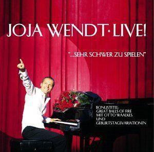 Joja Wendt - Live! Sehr Schwer Zu Spielen