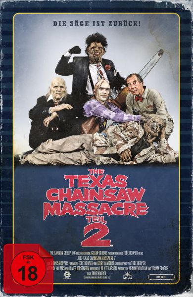 The Texas Chainsaw Massacre 2 - Limited Collector's Edition im VHS-Design
