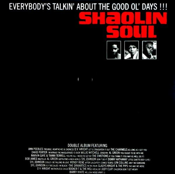 Various - Shaolin Soul Episode 1 (2LP+CD)