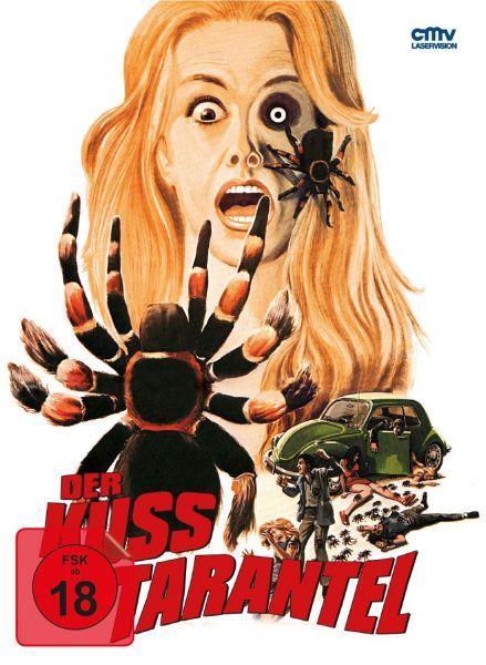 Der Kuss der Tarantel - Cover A (uncut) (Limitiertes Mediabook) (Blu-ray + DVD)