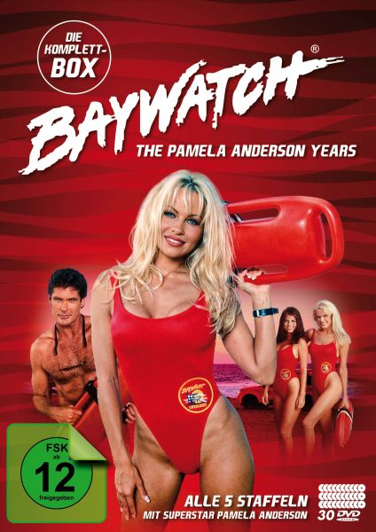 Baywatch - The Pamela Anderson Years Komplettbox (Alle 5 Staffeln) (30 DVDs)