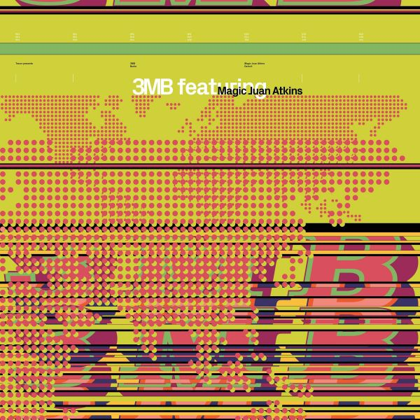 3MB feat. Magic Juan Atkins - 3MB feat. Magic Juan Atkins (2LP)