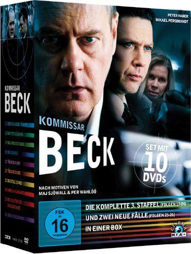 Kommissar Beck - Die komplette 3. Staffel + zwei neue Fälle (10 DVDs)