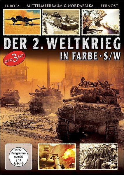 Panzer-Divisionen, Sturmtruppen, Panzer-Abwehr - Der 2. Weltkrieg in Farbe & schwarz-weiß