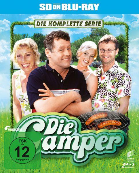 Die Camper - Die komplette Serie (SD on Blu-ray)