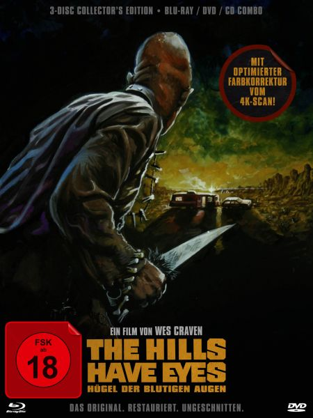 The Hills Have Eyes - Hügel der Blutigen Augen (3-Disc Collector's Edition) (Blu-ray + DVD + CD)