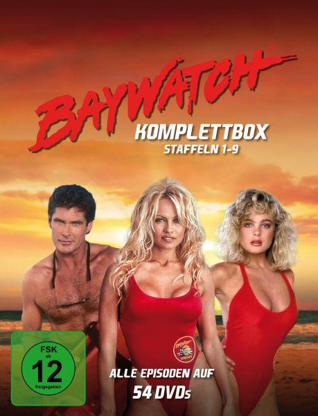 Baywatch - Staffeln 1-9 Komplettbox (54 DVDs)
