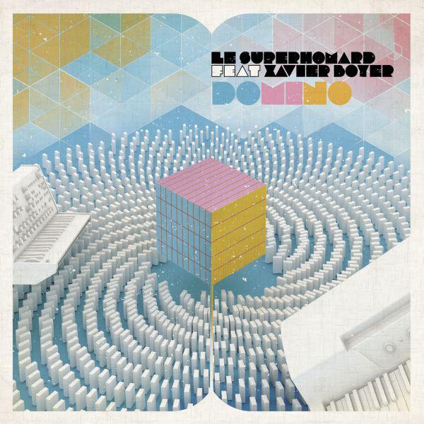 Le Superhomard feat. Xavier Boyer (Tahiti 80) - Domino (White Single)