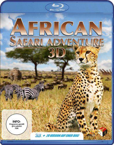African Safari Adventure 3D (Blu-ray 3D)