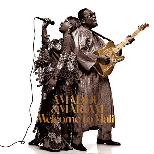 Amadou & Mariam - Welcome To Mali (2016 Deluxe Gatefold LP+CD)