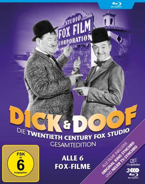 Dick und Doof - Die Fox-Studio-Gesamtedition (Alle 6 Fox-Filme)