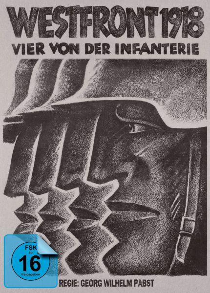 Westfront 1918: Vier von der Infanterie - Limited Mediabook (Blu-ray + DVD)