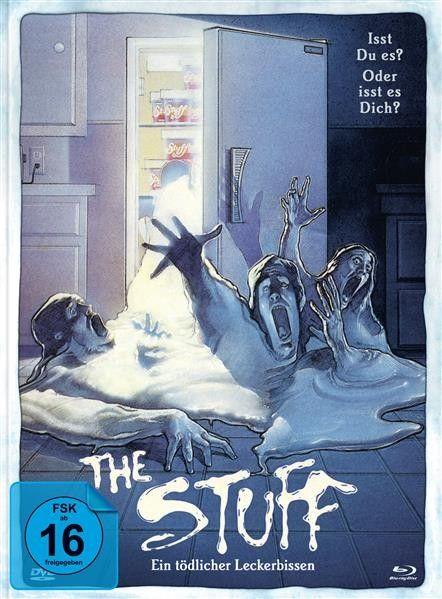 The Stuff - Ein tödlicher Leckerbissen (Blu-ray + DVD im Mediabook)