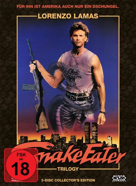 Snake Eater Trilogy Collection (Mediabook)