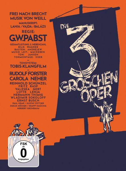 Die 3-Groschen-Oper - Mediabook, restaurierte Fassung (DVD + Blu-ray)