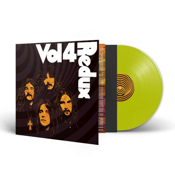 Various (Black Sabbath) - Vol. 4 (Redux) (LP neongelb)