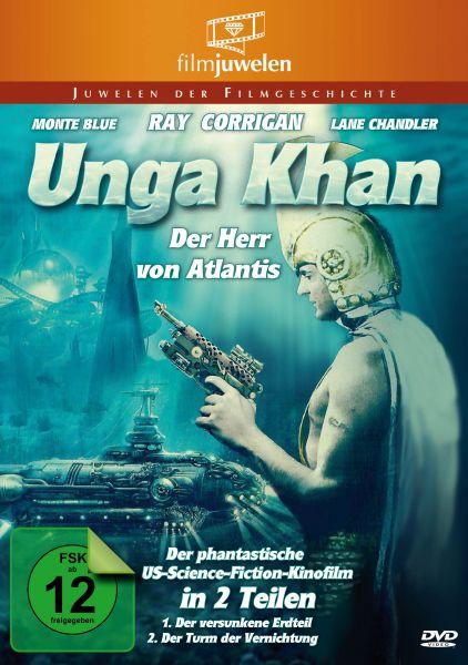 Unga Khan - Der Herr von Atlantis: Der versunkene Erdteil / Der Turm der Vernichtung