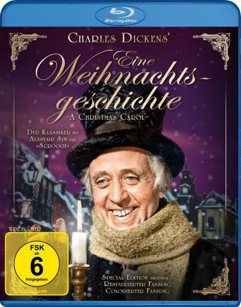 Eine Weihnachtsgeschichte (Charles Dickens) - Special Edition inkl. kolorierter Fassung