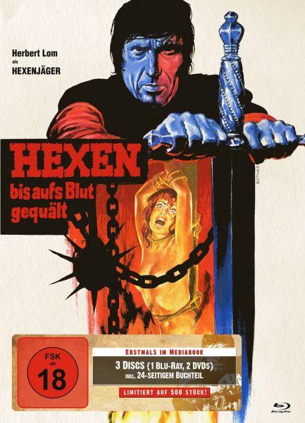 Hexen bis aufs Blut gequält (3-Disc-Mediabook Cover B)