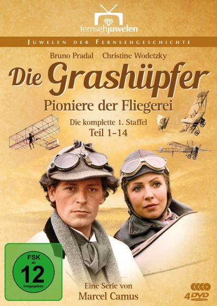 Die Grashüpfer - Pioniere der Fliegerei - Staffel 1 (Folgen 1-14)
