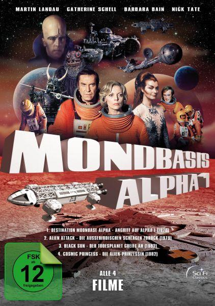 Mondbasis Alpha 1 - Die Spielfilme-Box (Alle 4 Spielfilme zur Serie)