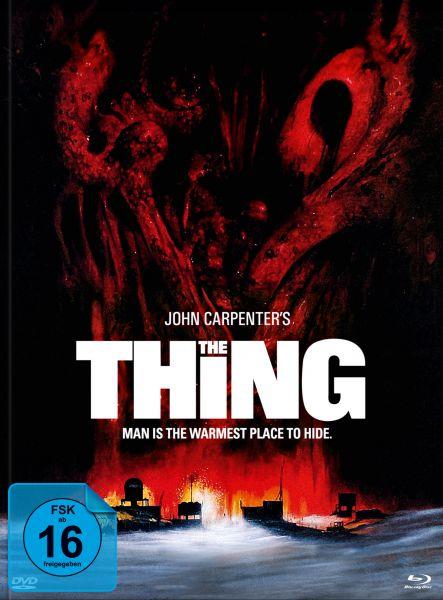 John Carpenters THE THING - 3-Disc-Mediabook Edition #Edwards (BD & DVD)