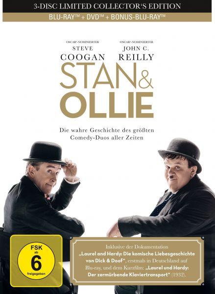 Stan & Ollie - 3-Disc Mediabook (2 Blu-rays + DVD)