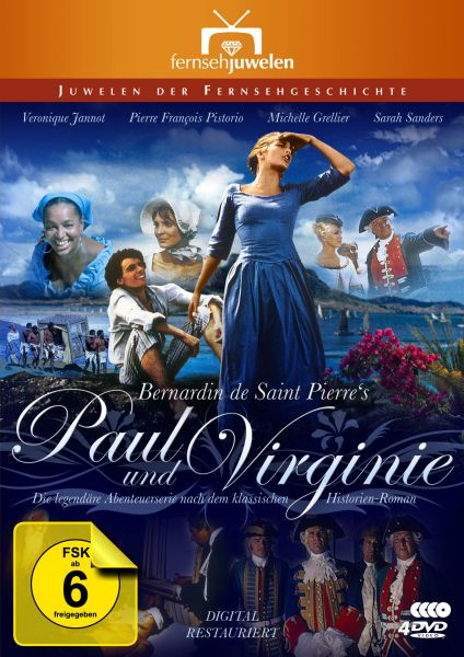 Paul und Virginie - Die komplette Abenteuerserie (4DVDs)