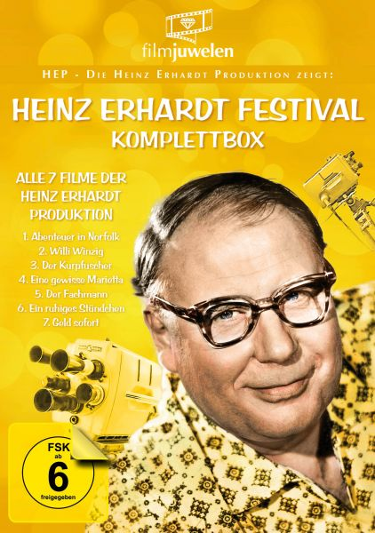 Heinz Erhardt Festival - Komplettbox (HEP - Die Heinz Erhardt Produktion zeigt...)