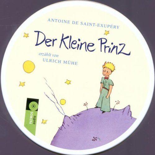 Mühe, Ulrich (Saint-Exupery, Antoine de) - Der kleine Prinz - Lesung mit Ulrich Mühe (Metalldose)
