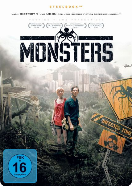 Monsters (Limited SteelBook Edition)
