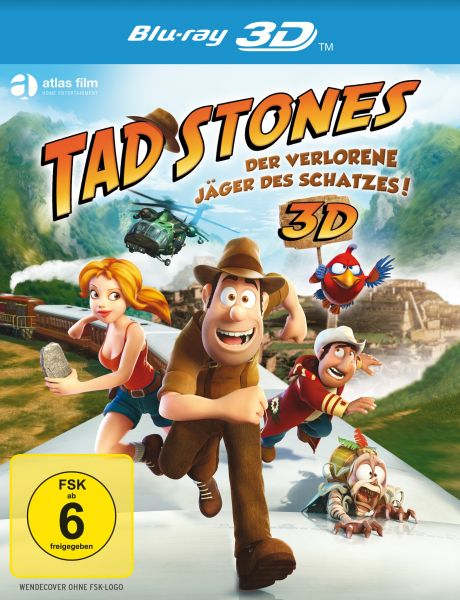 Tad Stones - Der verlorene Jäger des Schatzes! (3D Blu-ray)