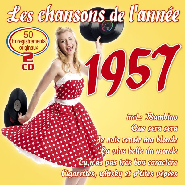 Various - Les chansons de l'année 1957