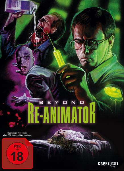 Beyond Re-Animator - 2-Disc Mediabook (Blu-ray + DVD)