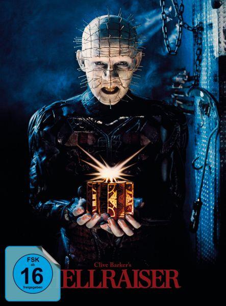 Hellraiser - Das Tor zur Hölle (BD+DVD-Mediabook - Cover A, Kinomotiv) (Uncut)