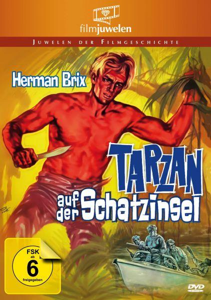 Tarzan auf der Schatzinsel - mit Herman Brix