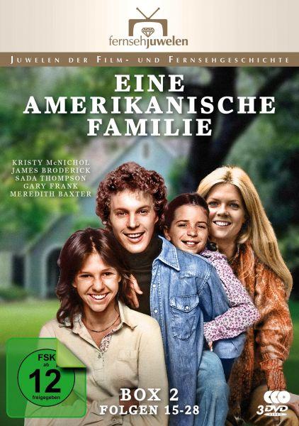 Eine amerikanische Familie - Box 2 (Folgen 15-28)