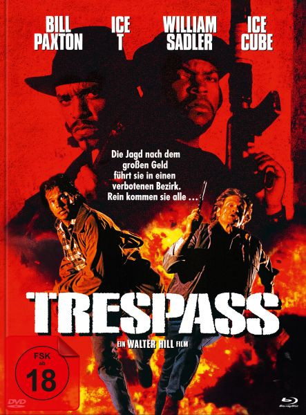 Trespass (uncut) (Blu-ray + DVD im Mediabook) - Cover B