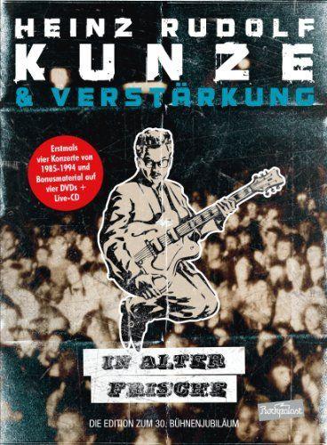 Heinz Rudolf Kunze - In alter Frische (4 DVDs + CD)