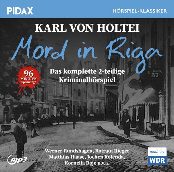 von Holtei, Karl - Mord in Riga