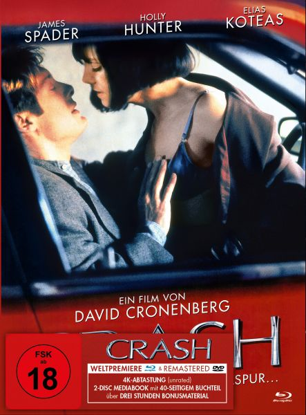 Crash - Mediabook Classic (Blu-ray + DVD)