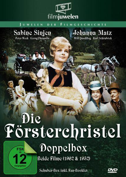 Die Försterchristel (1962) und Försterchristl (1952) - Doppelbox [2 DVDs]