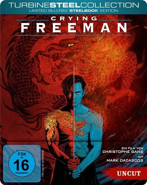 Crying Freeman (Uncut) [Limited Blu-ray SteelBook Edition]