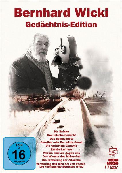 Bernhard Wicki - Gedächtnis-Edition (11 DVDs)