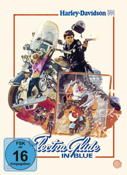 Electra Glide in Blue - Harley Davidson 344 (Limited Edition Mediabook)