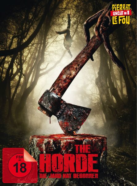 The Horde - Die Jagd hat begonnen (uncut) - Limited Edition Mediabook (Blu-ray + DVD)