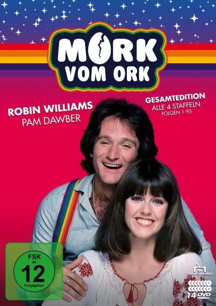 Mork vom Ork - Gesamtedition: Alle 4 Staffeln (Folgen 1-95) (14 DVDs)
